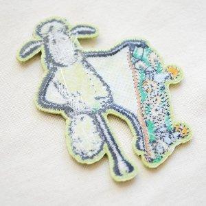 画像3: ワッペン ひつじのショーン/Shaum the Sheep (スケートボード)
