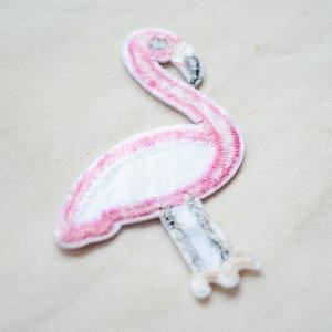 画像3: ワッペン フラミンゴ