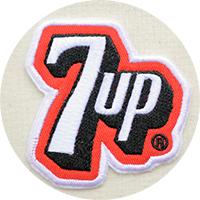 7upセブンアップワッペン・アップリケ・グッズ
