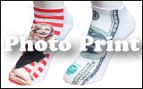 ワッペンストア・Photo Print(フォトプリント)アンクルソックスページ
