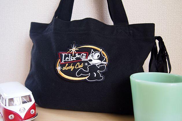 Wappen Felix The Cat Lucky Cat / ワッペン フィリックス・ザ・キャット (ラッキー)