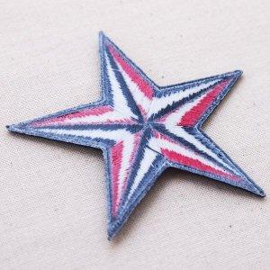 画像3: ワッペン 星/スター Star(レッド&ブラック)