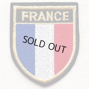 画像1: エンブレムワッペン France フランス国旗