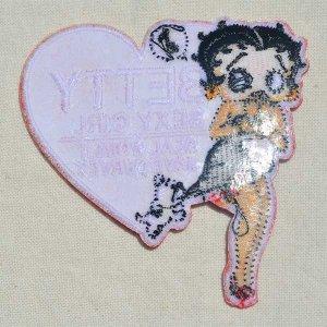 画像3: ワッペン ベティブープ Betty Boop(セクシーガール)