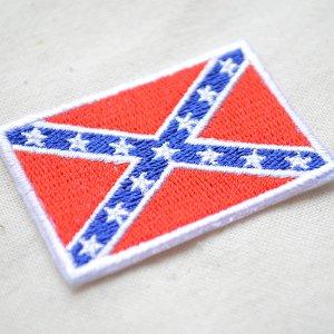 画像2: ワッペン レベルフラッグ/Rebel Flag(Sサイズ)