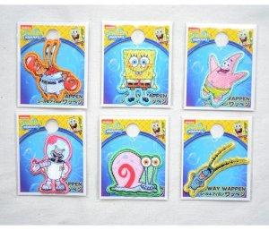 画像3: シールワッペン スポンジボブ(Sponge Bob)