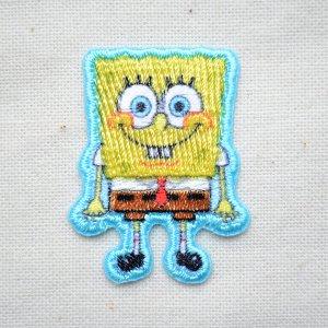 画像1: シールワッペン スポンジボブ(Sponge Bob)