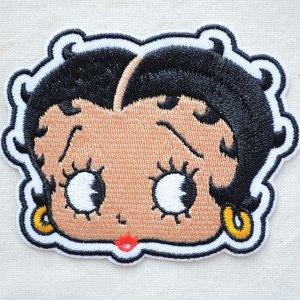 画像1: ワッペン ベティブープ Betty Boop(フェイス)