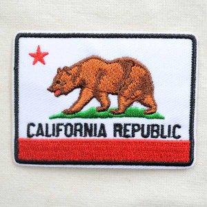 画像1: アメリカンワッペン CALIFORNIA REPUBLIC/カリフォルニア州旗