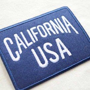 画像2: USAアドバタイジングワッペン CALIFORNIA USA