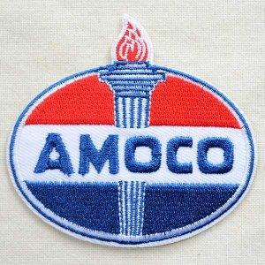 画像1: ロゴワッペン アモコオイル/AMOCO EMBLEM