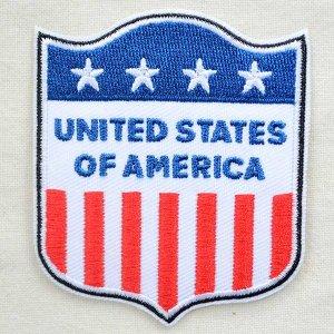 画像1: エンブレムワッペン USA アメリカ