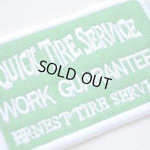 画像2: USAアドバタイジングワッペン QUICK TIRE SERVICE(グリーン&ホワイト)