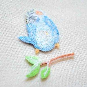 画像3: ナチュラルワッペン 小鳥/枝(2枚組)