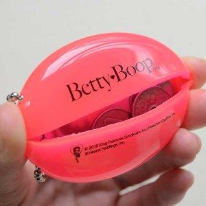 画像4: ラバーコインケース ベティブープ Betty Boop(クリアレッド)