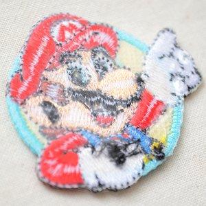 画像3: シールワッペン スーパーマリオ マリオ2