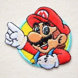 画像1: シールワッペン スーパーマリオ マリオ2