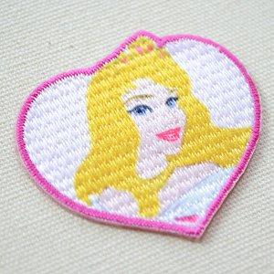 画像2: シールワッペン ディズニープリンセス オーロラ姫