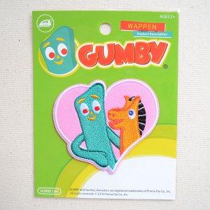 画像4: ワッペン ガンビー/GUMBY(ハート)