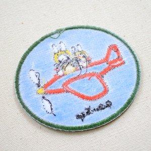 画像3: ワッペン ミッフィー(飛行機) ディックブルーナ