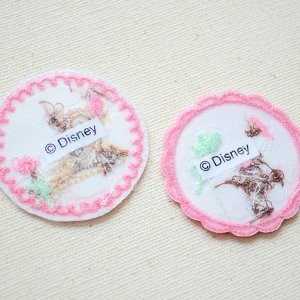 画像3: ワッペン ディズニー バンビ/とんすけ(2枚組)