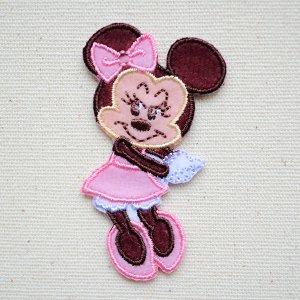 画像1: ワッペン ディズニー ミニーマウス