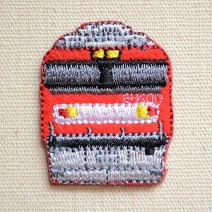 画像1: 鉄道/電車 トレインミニワッペン EH500金太郎