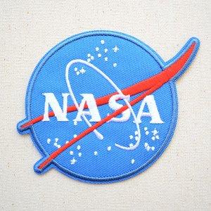 画像1: ロゴワッペン NASA ナサ エンブレム