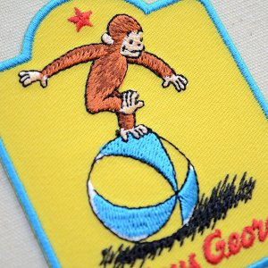 画像2: ワッペン おさるのジョージ ボール