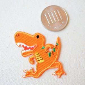 画像2: ワッペン へなちょこZOO(恐竜/ティラノサウルス)