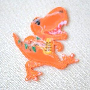 画像3: ワッペン へなちょこZOO(恐竜/ティラノサウルス)