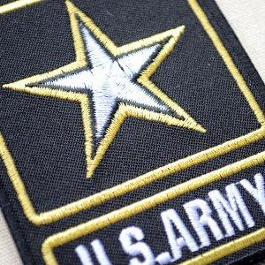画像2: ミリタリーワッペン U.S.Army アーミー スター アメリカ陸軍