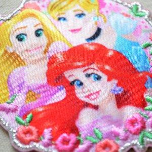 画像2: シールワッペン ディズニープリンセス お花