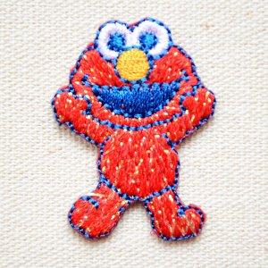 画像1: ワッペン セサミストリート エルモ/Elmo