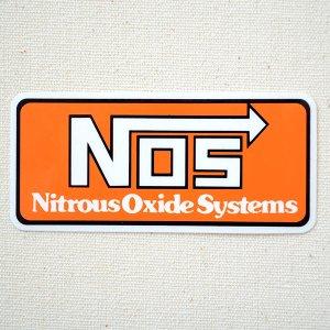 画像1: ステッカー/シール NOS(オレンジ)