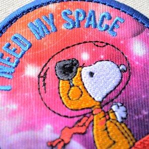 画像2: シールワッペン スヌーピー MY SPACE Misson to Mars
