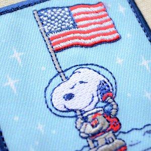画像2: シールワッペン スヌーピー USA Misson to Mars