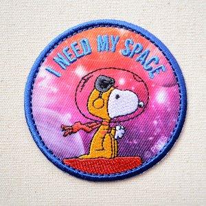 画像1: シールワッペン スヌーピー MY SPACE Misson to Mars