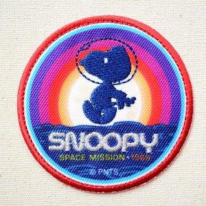 画像1: シールワッペン スヌーピー SPACE mission Misson to Mars