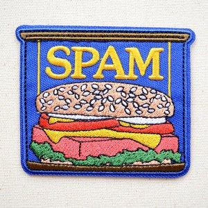 画像1: ワッペン スパム/SPAM 缶