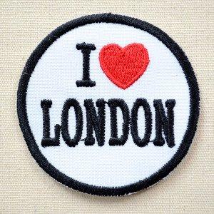 画像1: ワッペン I LOVE LONDON アイラブロンドン