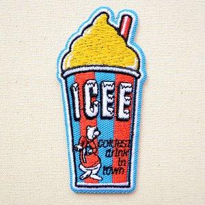 画像1: ロゴワッペン ICEE カップ(イエロー)