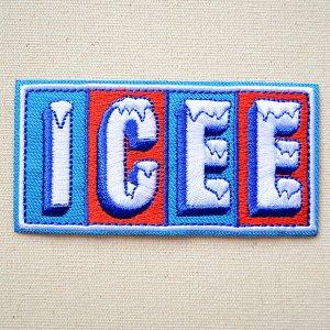 画像1: ロゴワッペン ICEE アイシー