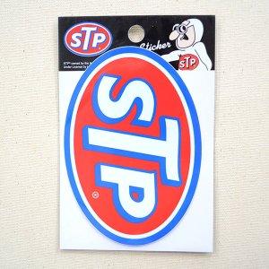 画像3: ステッカー/シール STP(ブルーフレーム)