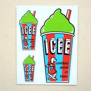 画像1: ステッカー/シール ICEE CUP(グリーン)