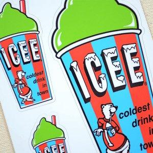 画像2: ステッカー/シール ICEE CUP(グリーン)