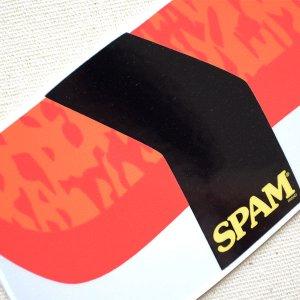 画像2: ステッカー/シール スパム SPAM スシ
