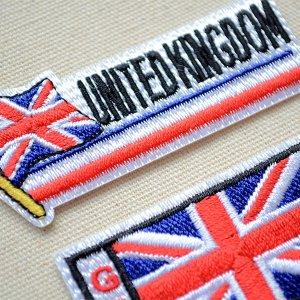 画像2: ワッペン イギリス国旗 フラッグ
