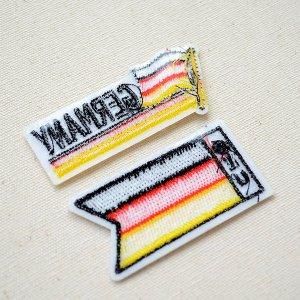 画像3: ワッペン ドイツ国旗 フラッグ