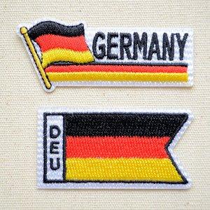 画像1: ワッペン ドイツ国旗 フラッグ